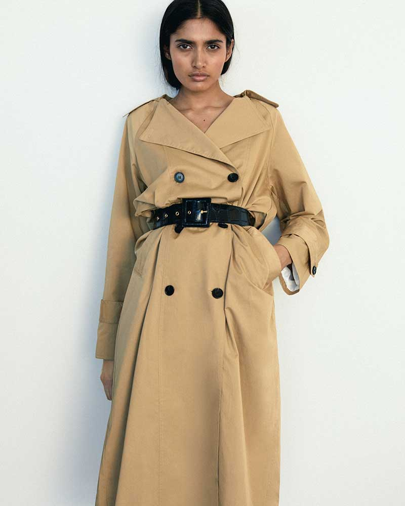 Modetrends lente zomer 2021. De allernieuwste trench coats. Photo: courtesy of Malene Birger