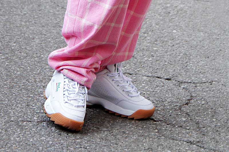 Ugly sneaker trend