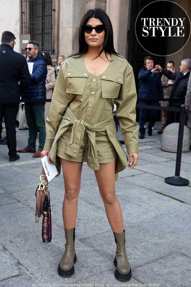 Modetrends en streetstyle lente zomer 2020