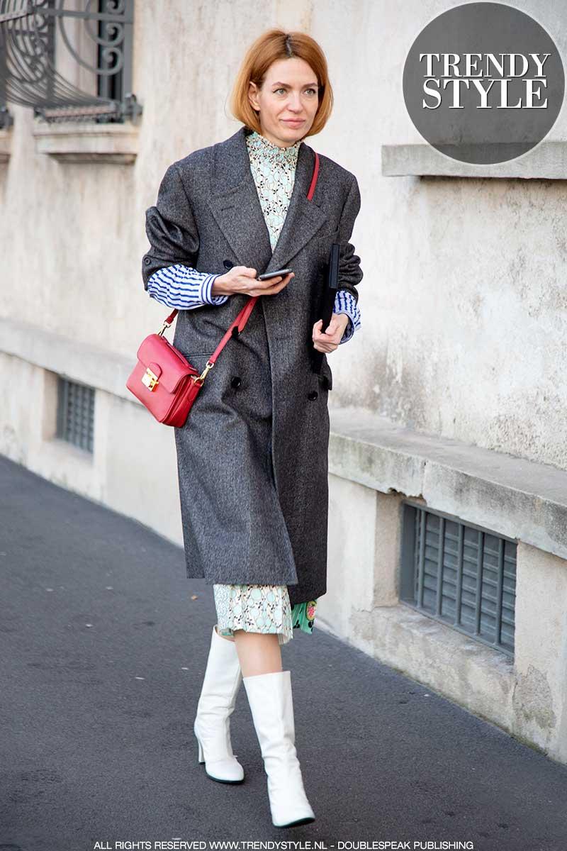 Modetrends 2020. Modekleur rood