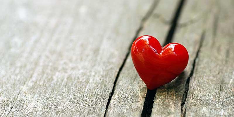 Valentijnsdag. Verleid met kleuren