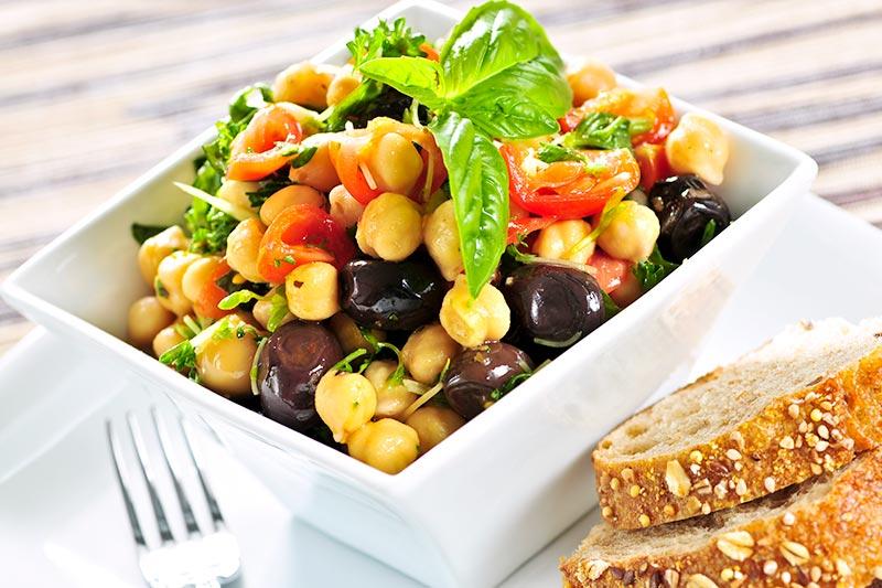 Het vegetarische dieet, het veganistische dieet