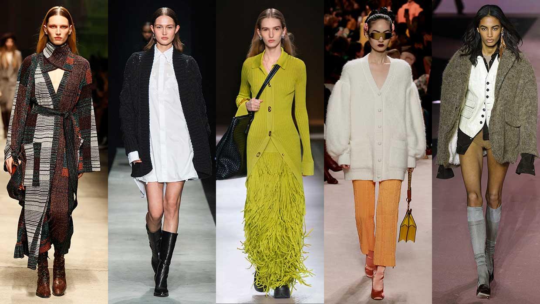 Modetrends herfst winter 2020 2021. Vesten en twinsets