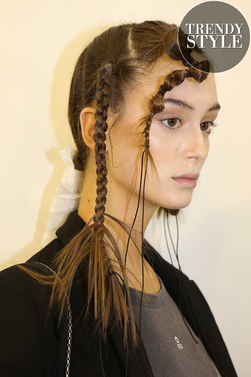 Haarstyling trends zomer 2020. Vlechtkapsels