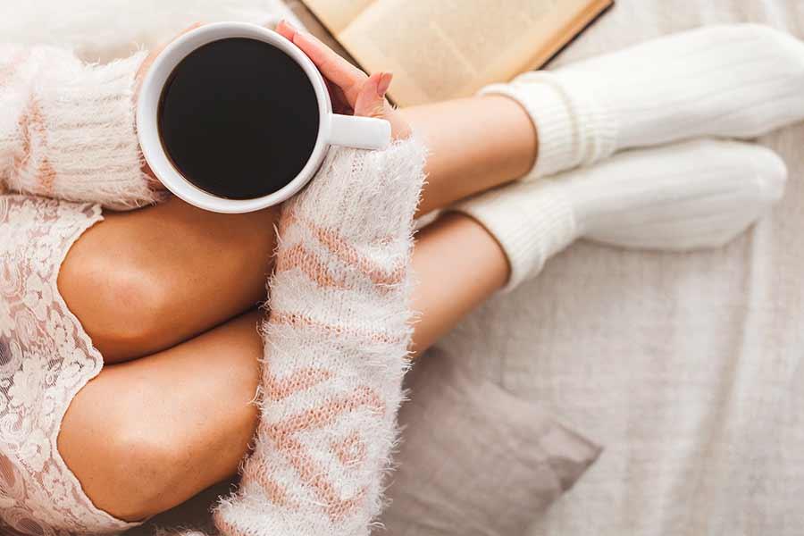 Waarom vrouwen het sneller koud hebben