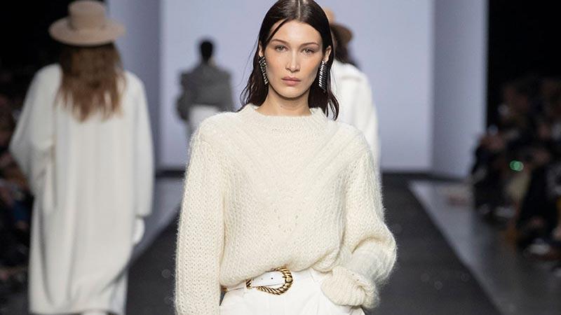 Damesmode herfst winter 2019 2020. Modecollectie: Alberta Ferretti