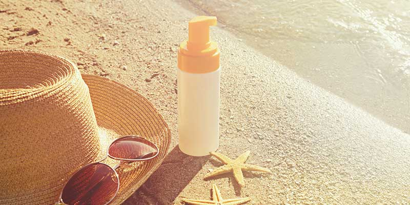 Bescherming huid en antizonnebrandcrèmes