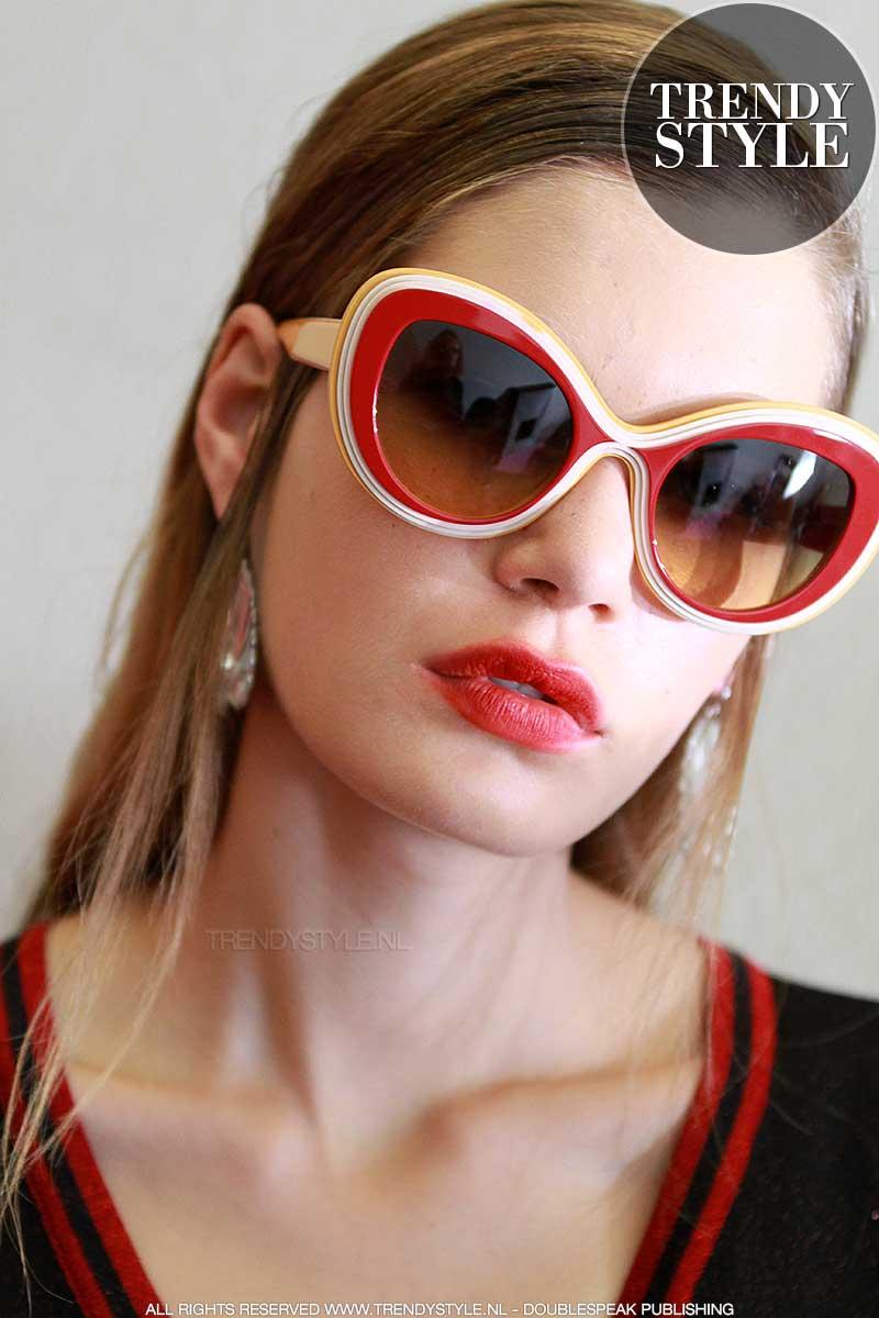Mode accessoires 2108. Dit zijn de zonnebrillen trends voor zomer 2018
